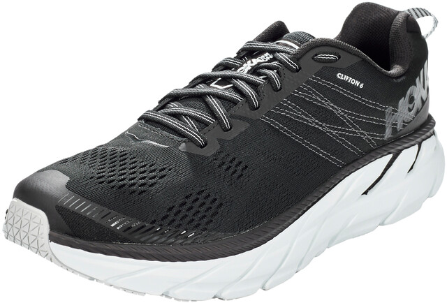 Hoka One One Clifton 6 Running Shoes Men blackwhite